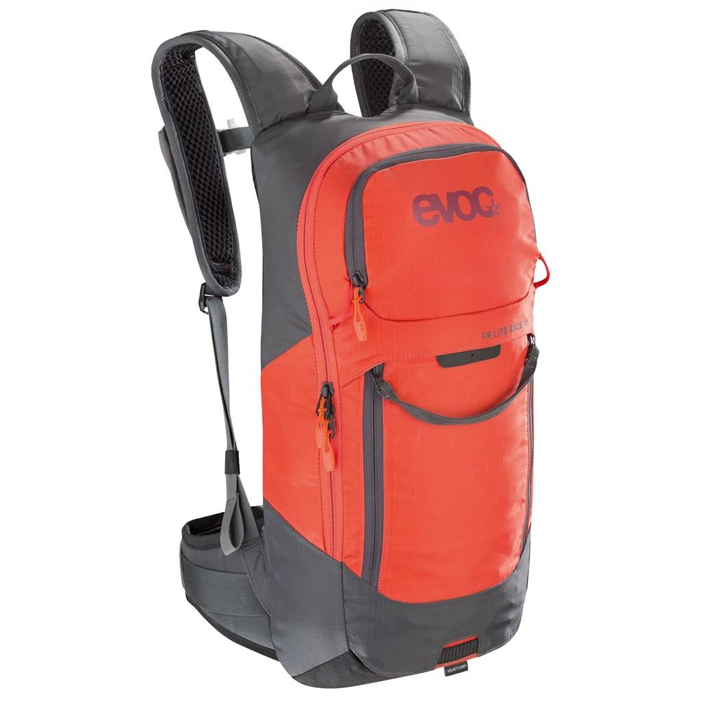Evoc - FR Lite Race 10L Backpack - carbon grey/orange