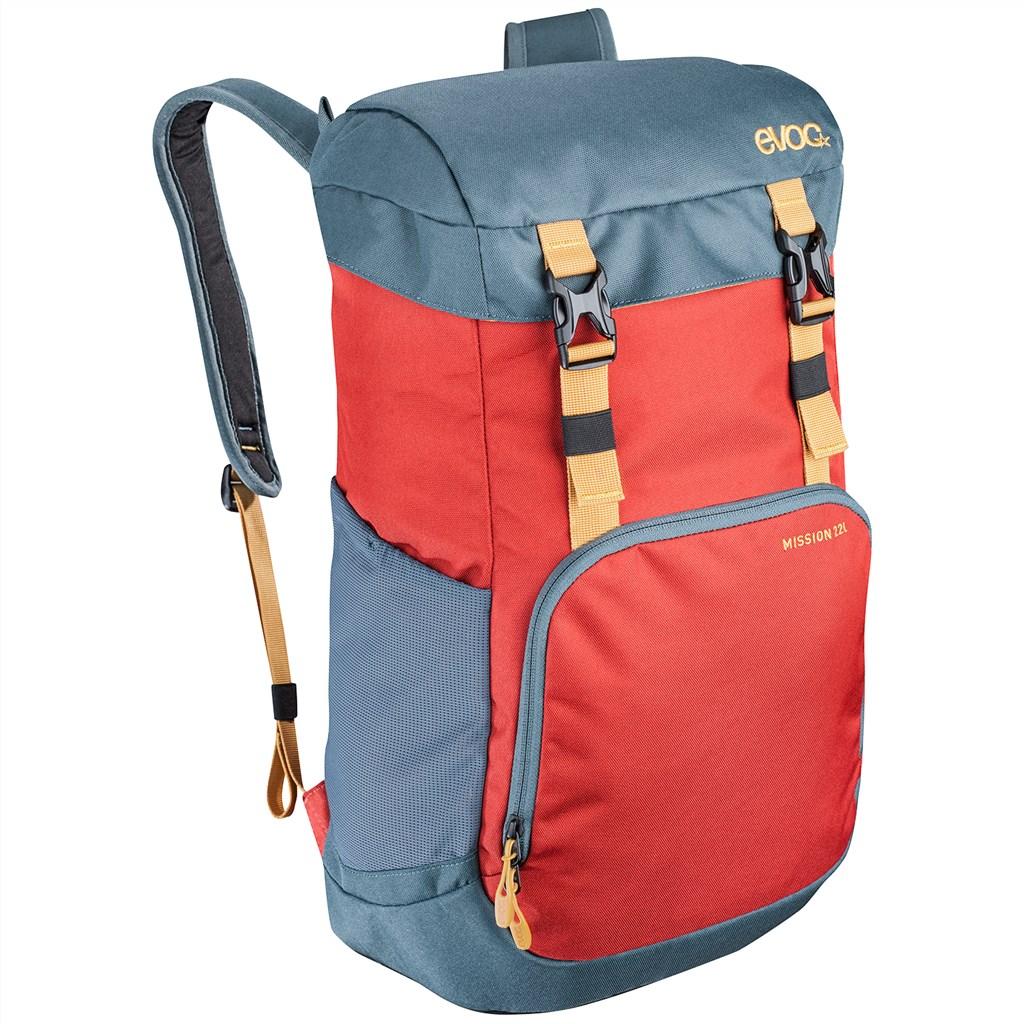 Evoc - Mission 22L Backpack - chili red/slate