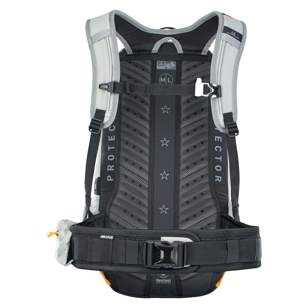 Evoc - FR Enduro E-Ride 16L Backpack - stone/bright orange