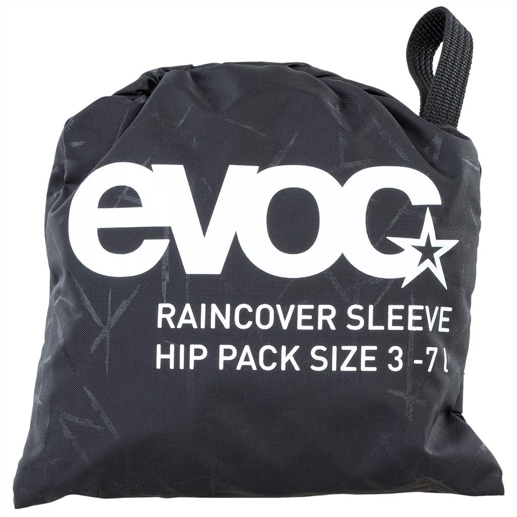Evoc - Raincover Sleeve Hip Pack 3-7L - black