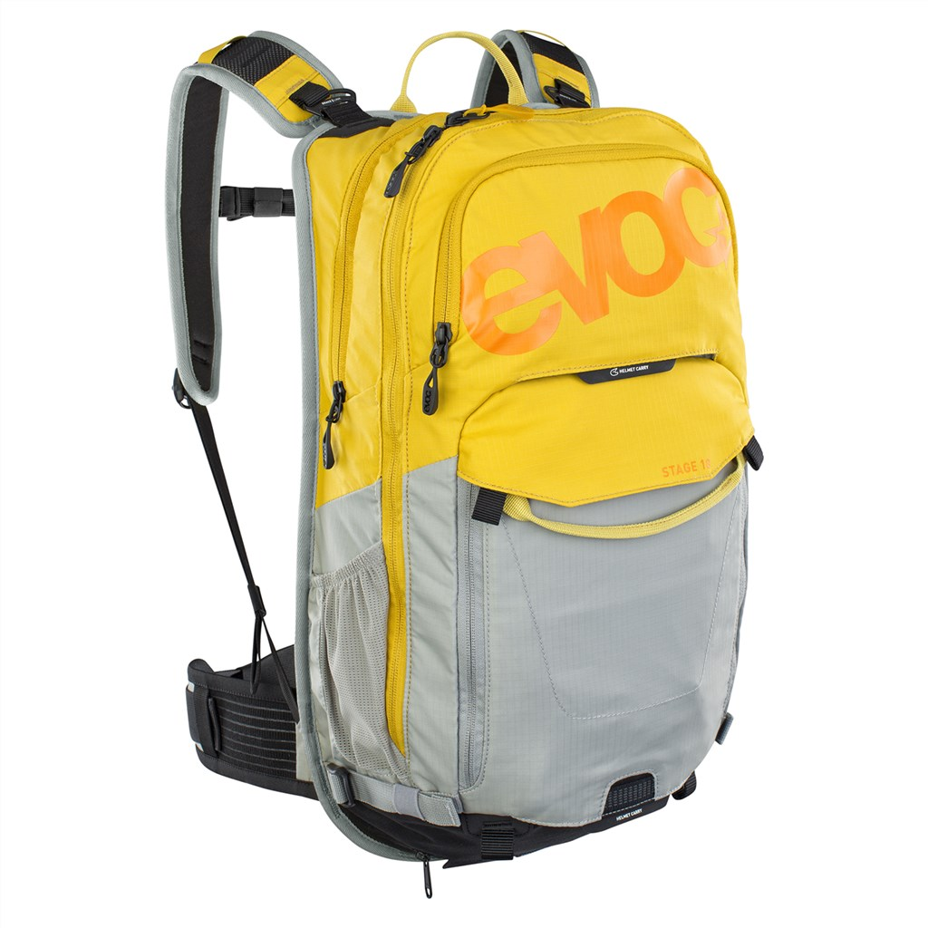 Evoc - Stage 18L Backpack - curry/stone