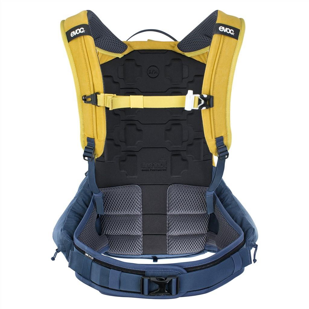 Evoc - Trail Pro 16L Backpack - curry/denim