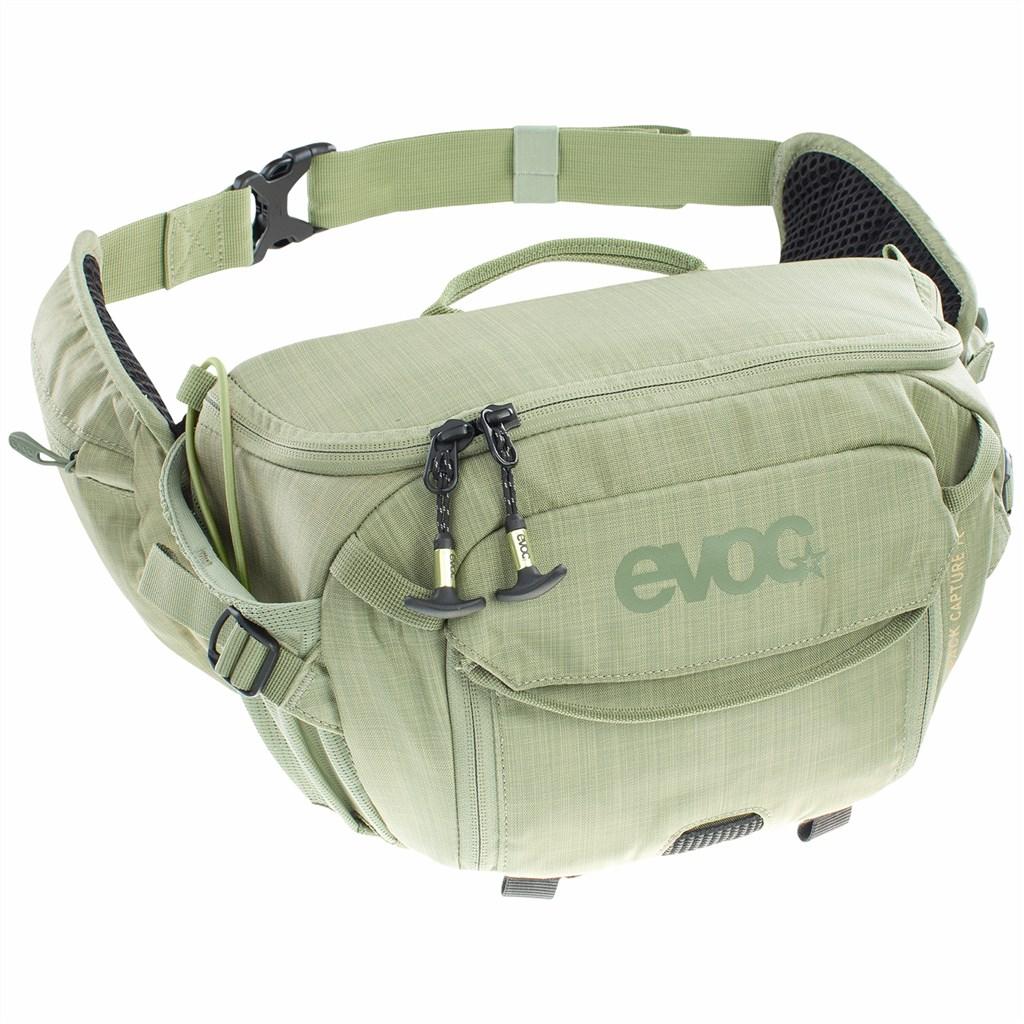 Evoc - Hip Pack Capture 7L - heather light olive