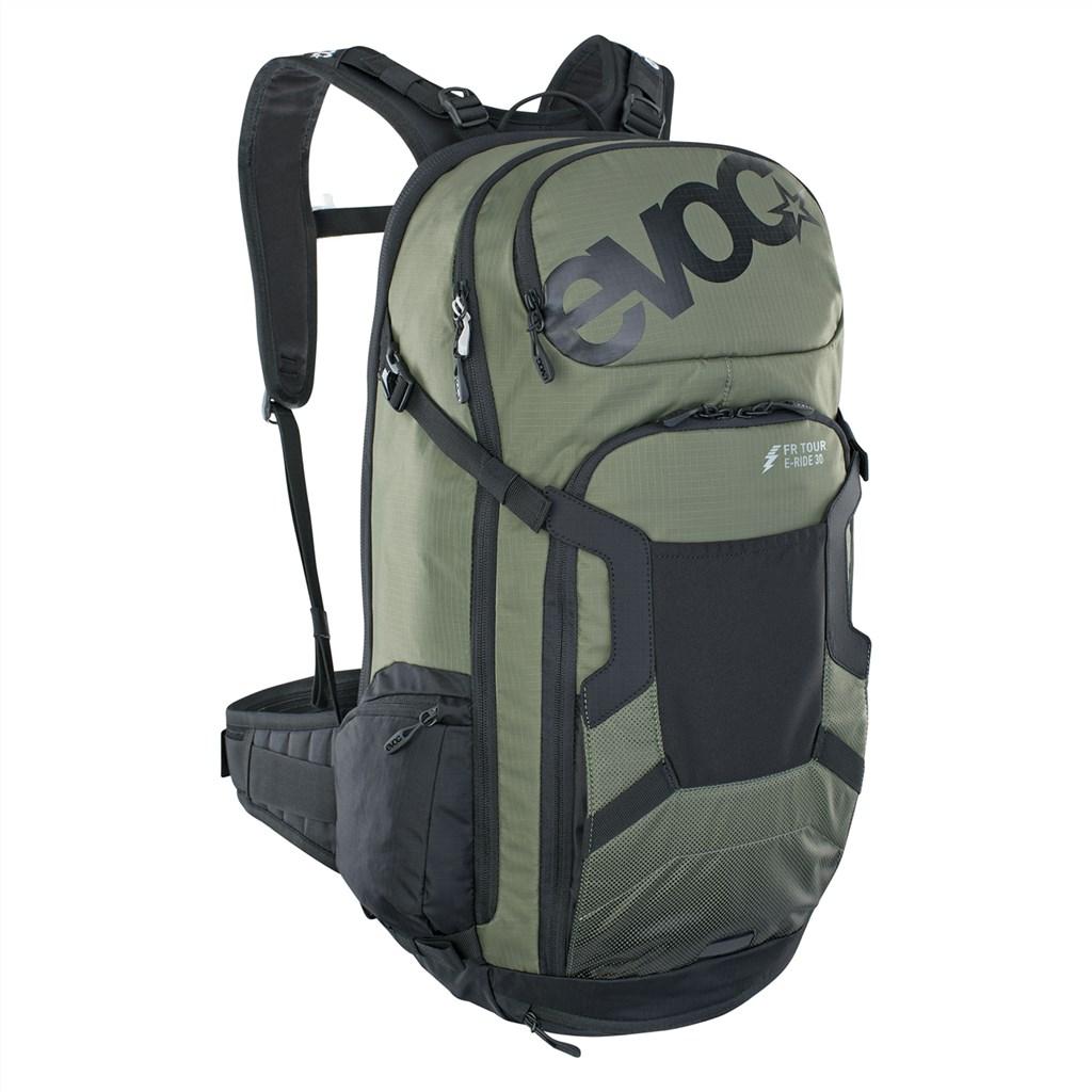 Evoc - FR Tour E-Ride 30L Backpack - dark olive/black