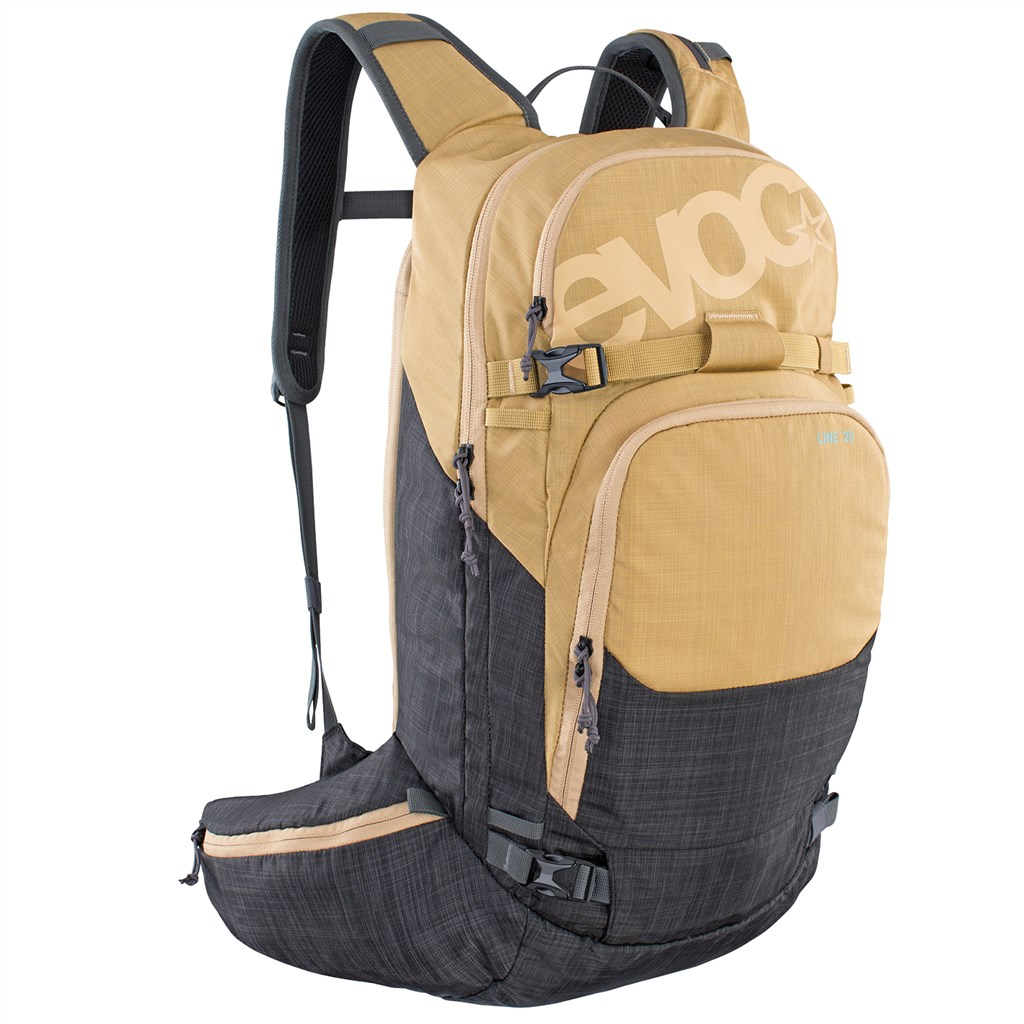 Evoc - Line 20L Backpack - heather gold/heather carb grey