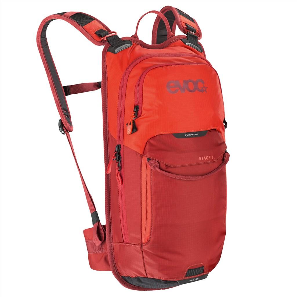 Evoc - Stage 6L Backpack + 2L Bladder - orange/chili red