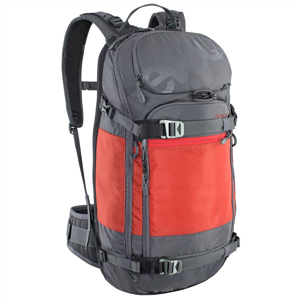Evoc - FR Pro Backpack - carbon grey/chili red