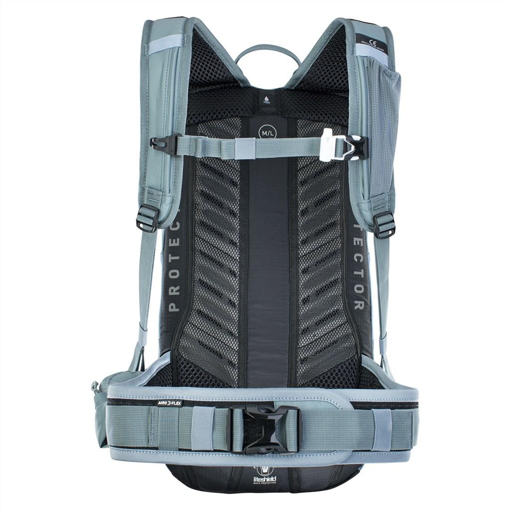 Evoc - FR Lite Race 10L Backpack - steel/copen blue