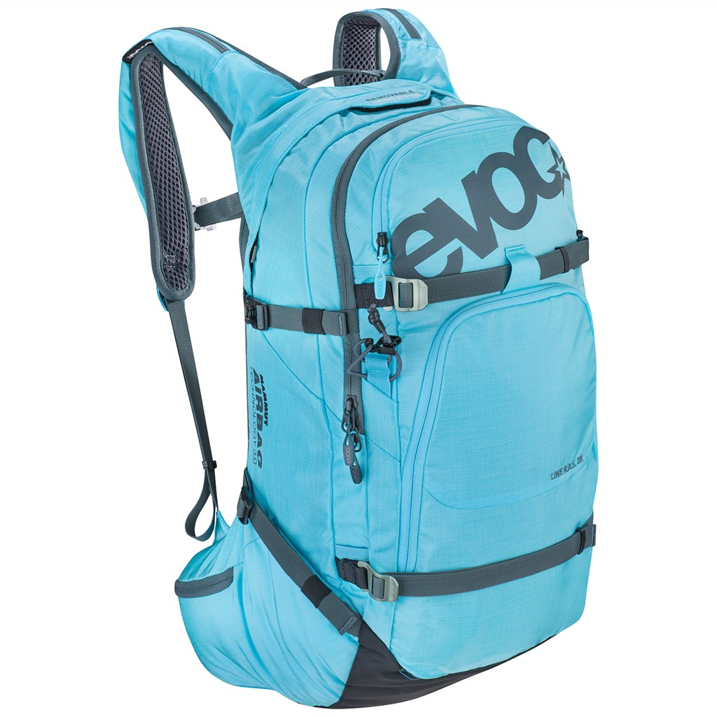 Evoc - Line R.A.S. 30l System integrated - heather neon blue