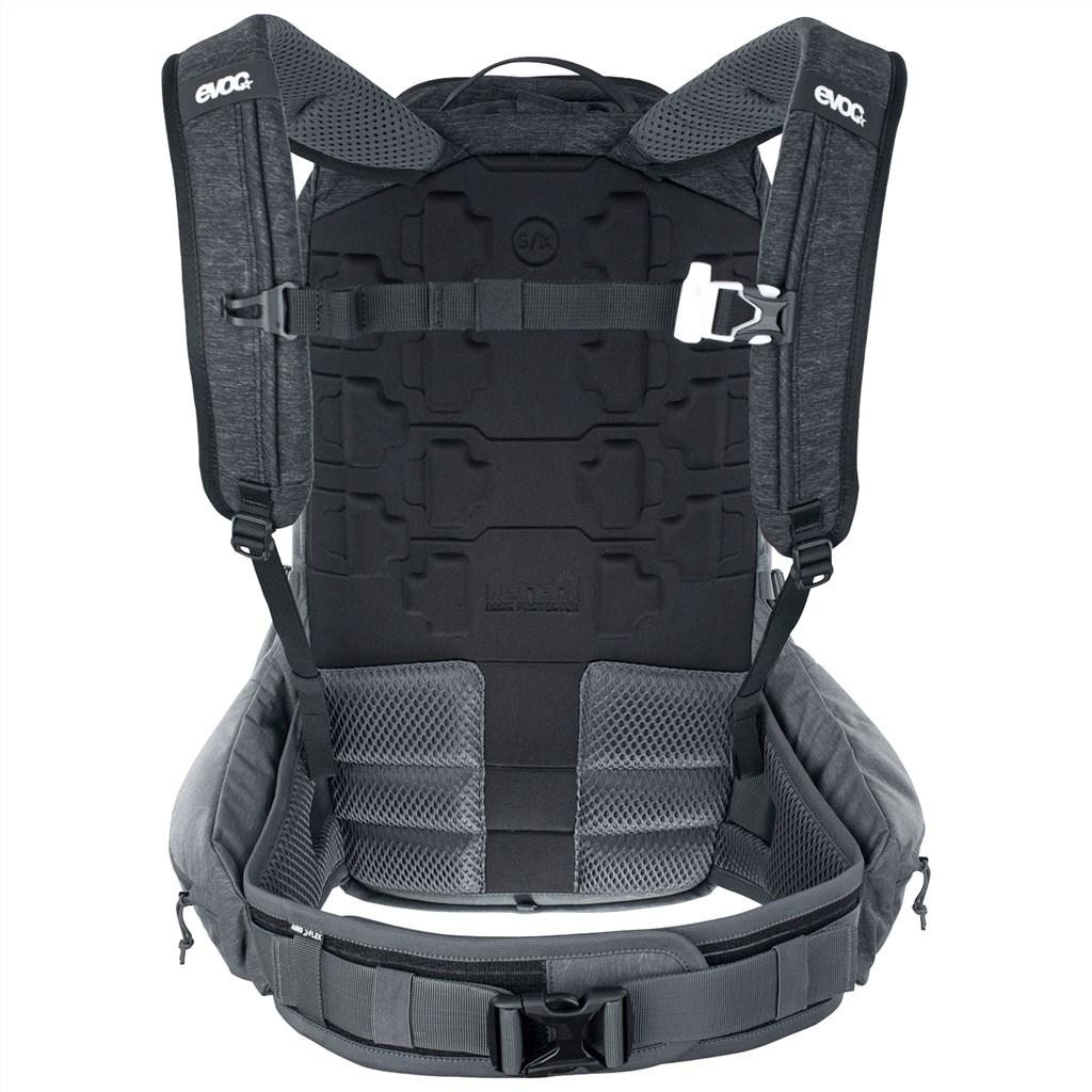 Evoc - Trail Pro 26L Backpack - black/carbon grey