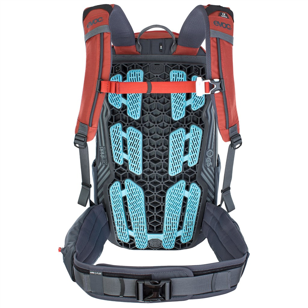 Evoc - Neo 16L Backpack - chili red/carbon grey