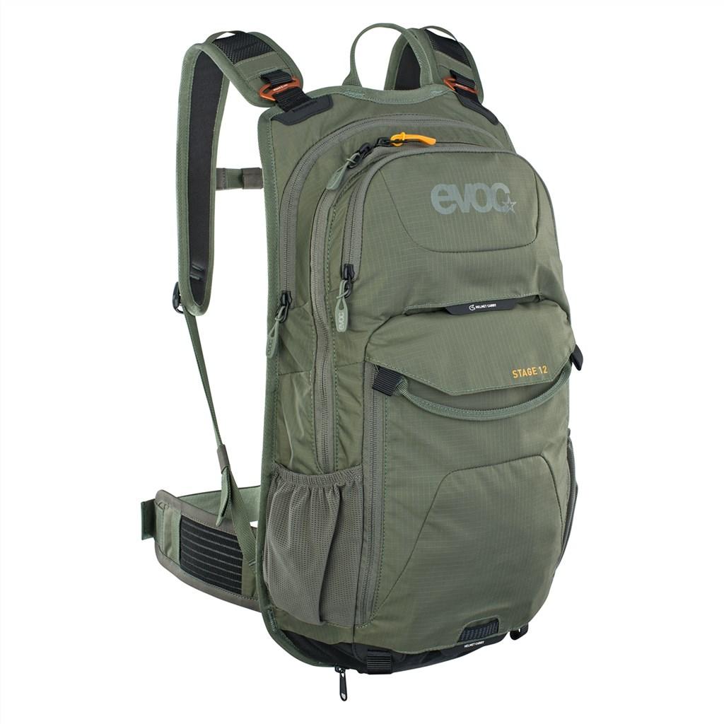 Evoc - Stage 12L Backpack - dark olive