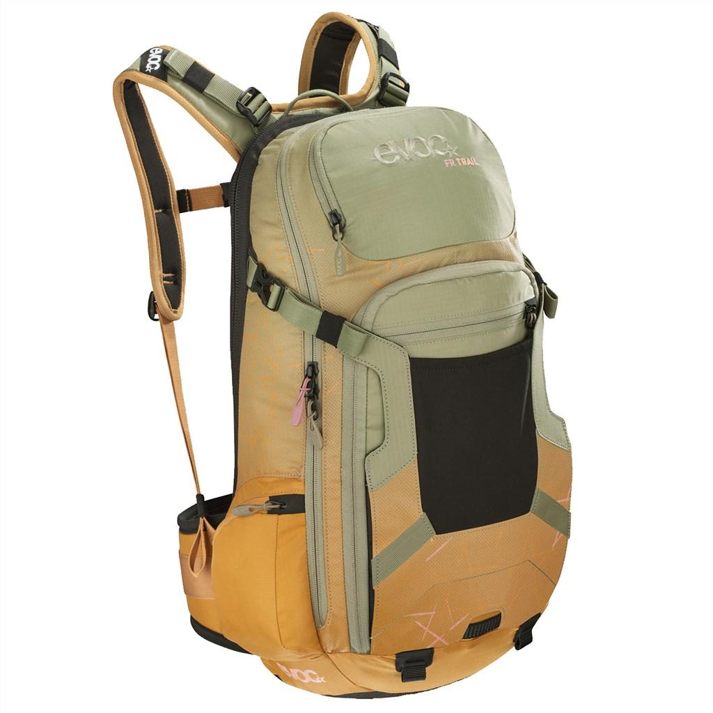 Evoc - FR Trail Women 20L Backpack - light olive/loam
