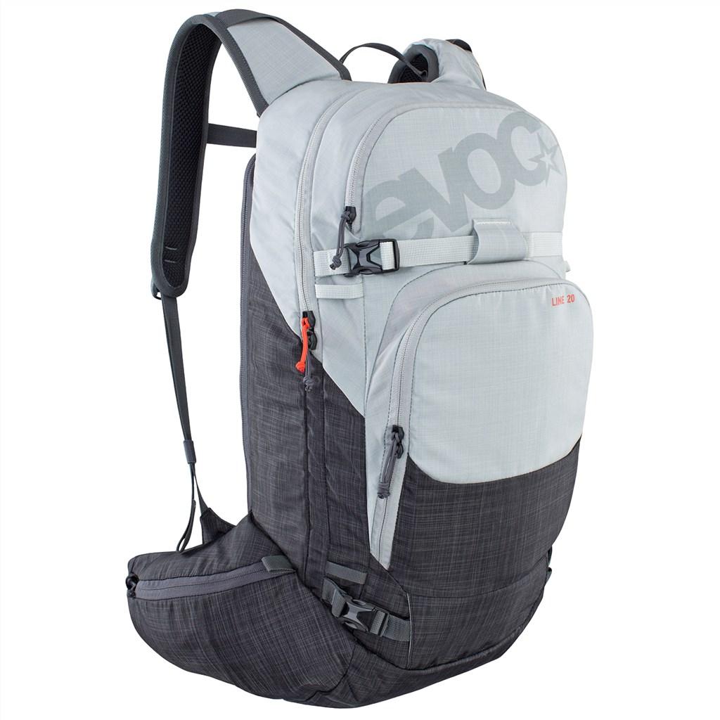 Evoc - Line 20L Backpack - silver/heather carbon grey