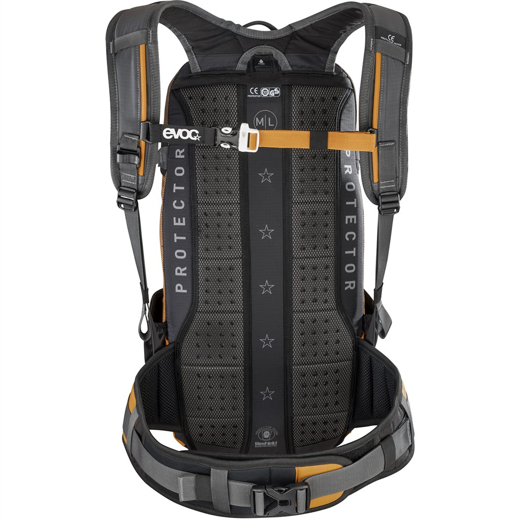 Evoc - FR Enduro 16L Backpack - carbon grey/loam