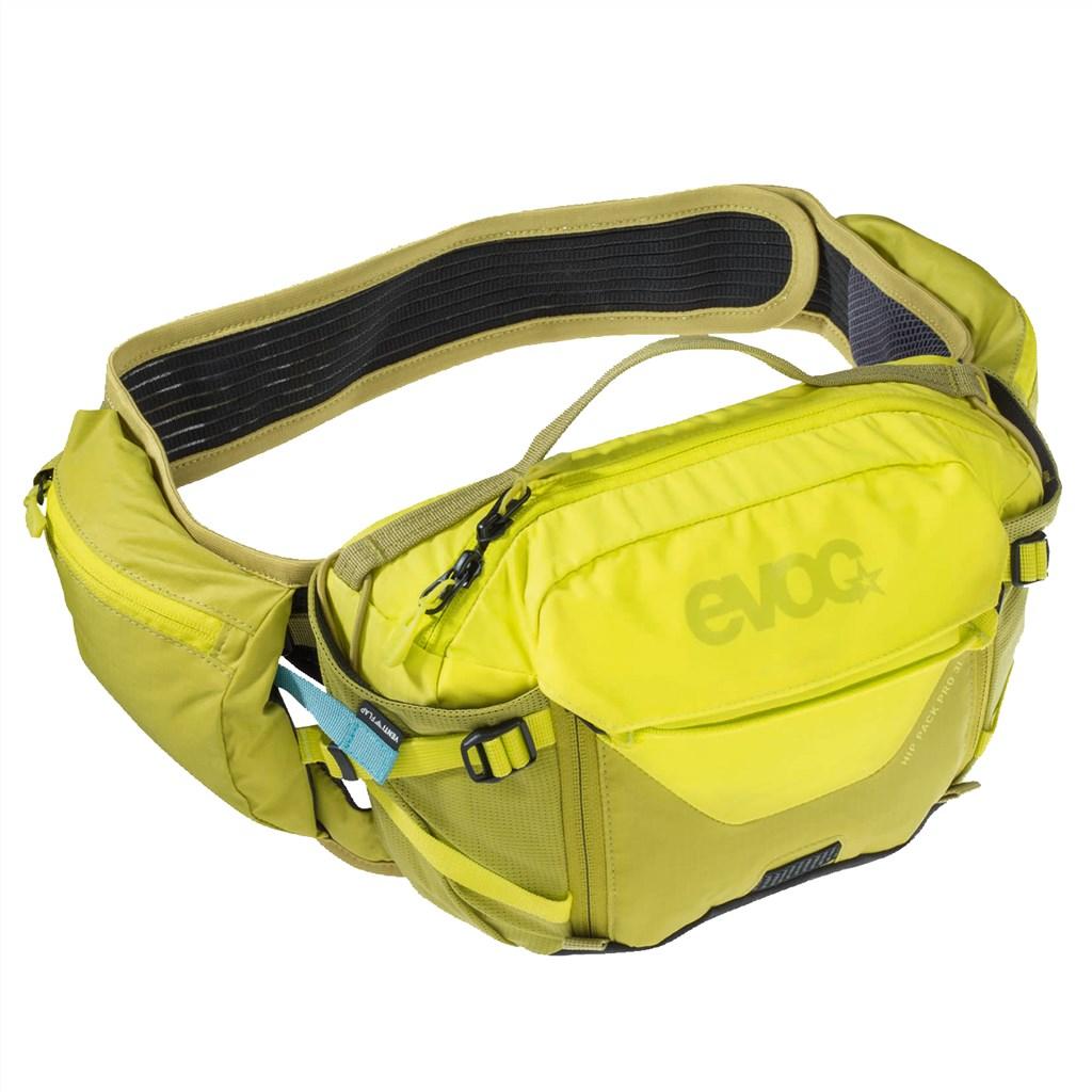 Evoc - Hip Pack Pro 3l + 1,5l Bladder - sulphur/moss green