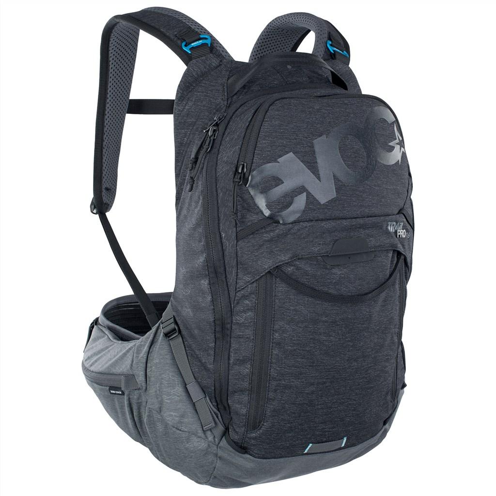 Evoc - Trail Pro 16L Backpack - black/carbon grey