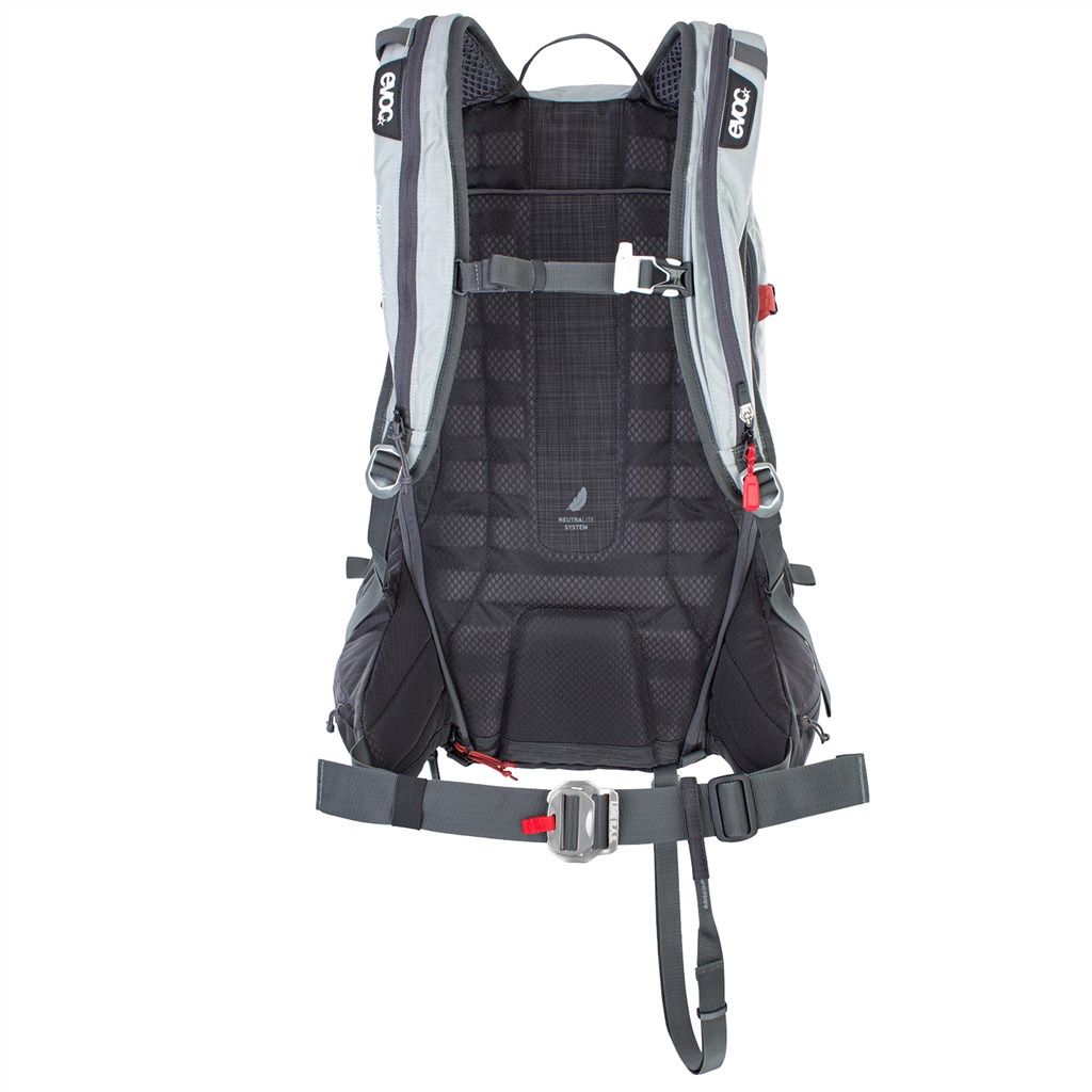 Evoc - Line R.A.S. 30l Backpack - silver/heather carbon grey