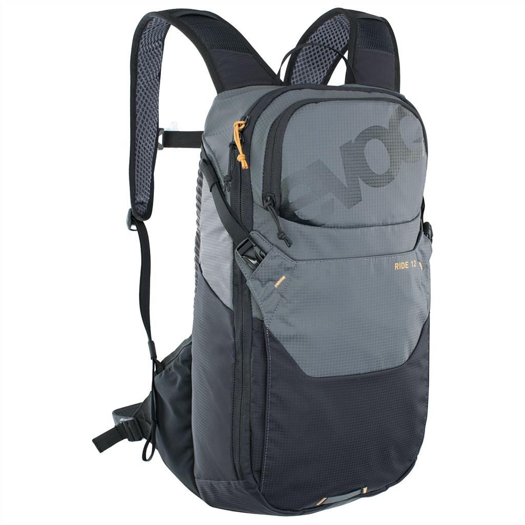 Evoc - Ride 12L Backpack - carbon grey/black