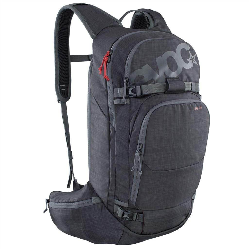 Evoc - Line 20L Backpack - heather carbon grey