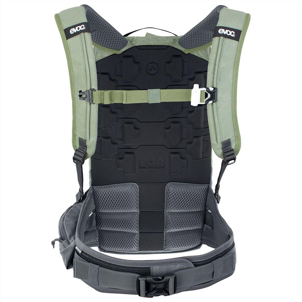 Evoc - Trail Pro 10L Backpack - light olive/carbon grey