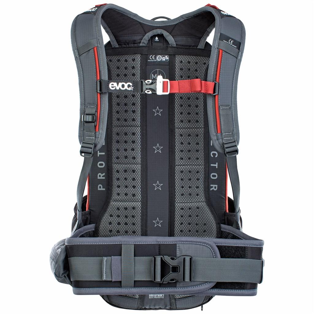 Evoc - FR Enduro 16L Backpack - carbon grey/chili red