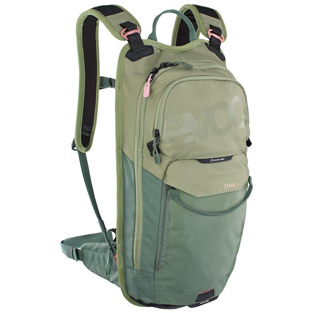 Evoc - Stage 6L Backpack + 2L Bladder - light olive/olive