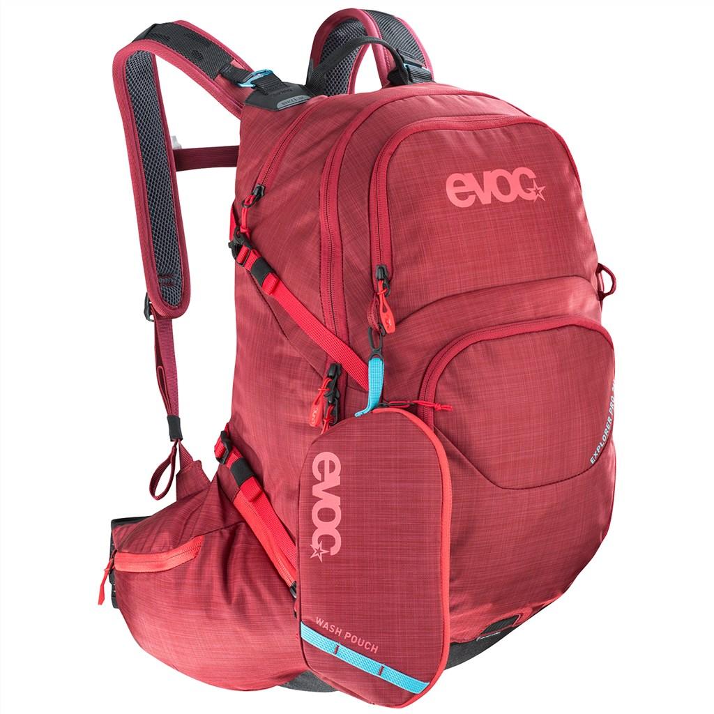 Evoc - Explorer Pro 26L Backpack - heather ruby